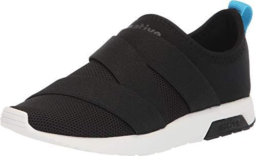 Native Kids Shoes Phoenix (Little Kid) Jiffy Black/Shell White 12 Little Kid M