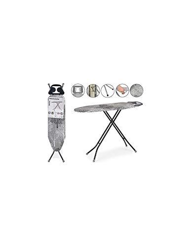 TU TENDENCIA ÚNICA Tabla de Planchar 30x97 cm. Reposaplanchas con Protector. Plegable. Tacos Antideslizantes (Árboles)