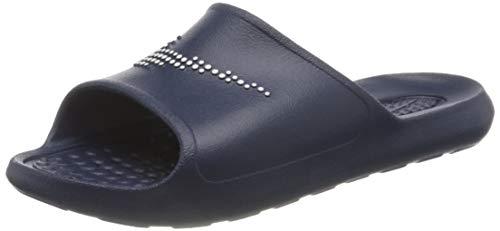 Nike VICTORI One Shower Slide, Scarpe da Ginnastica Uomo, Midnight Navy/White-Midnight Navy, 45 EU