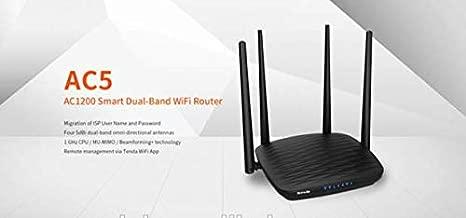 Tenda AC5 AC1200 Smart Dual-Band WiFi Router