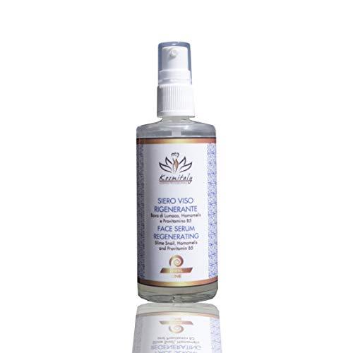 Sérum visage régénérant, à base d'escargot 100 ml, anti-rides et anti-taches, visage décolleté, corps soriasis acné professionnel esthétique