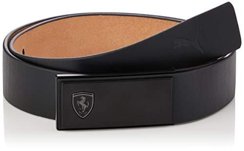 Puma Ferrari Style Belt Cinturón, Unisex Adulto, Black, S