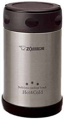 ZOJIRUSHI Stainless Steel Vacuum 500 ml Food Jar Black (SW-EXE50 BL)