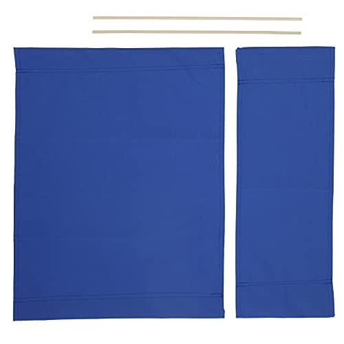 Ranvo Funda, Funda para Silla de Director Azul para Exterior para Oficina para Hogar