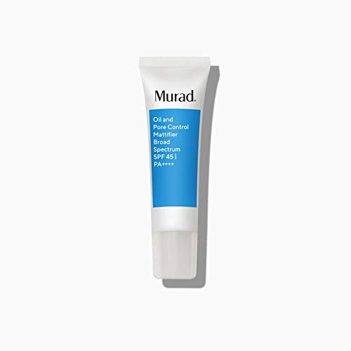 Murad Oil and Pore Control Mattifier Broad Spectrum SPF 45   PA++++   1.7 Fl Oz Moisturizer for Mattifying Facial Skin (packaging may vary)