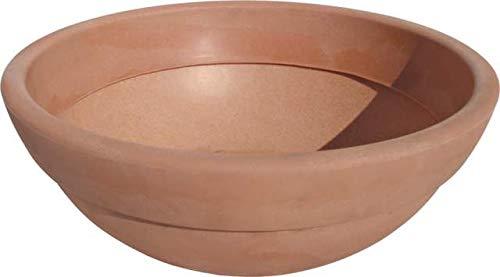 Bama Vaso a Ciotola, Linea Giardino, in Resina, Color Terracotta, Ø 60 cm