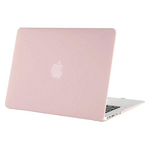 MOSISO Hülle Kompatibel mit MacBook Air 11 Zoll - Ultra Slim Hochwertige Plastik Hartschale Schutzhülle Snap Hülle Kompatibel mit MacBook Air 11 (A1370 / A1465), Rosenquarz
