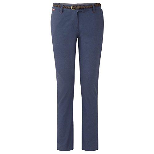 Craghoppers W NosiLife Fleurie Hose Blau, Damen Hose, Größe 42-16 - Farbe Soft Navy