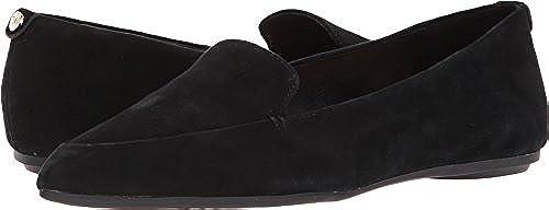 Taryn Rosa Frauen Faye Silky Suede Leder Loafers