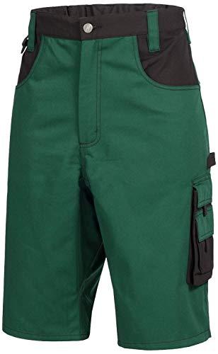 NITRAS Motion Tex Gardener Work Shorts - Workers korte broek - Heren - Groen