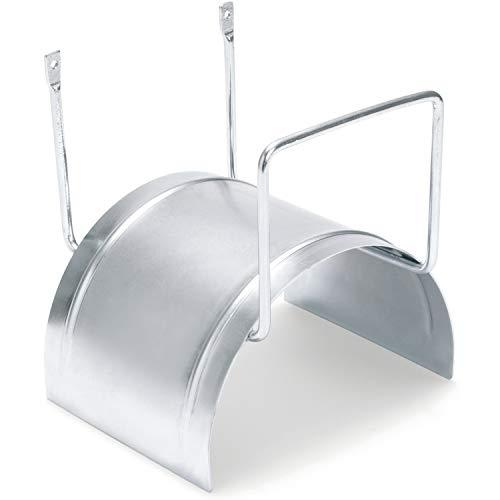 REHAU Wandschlauchhalter aus Metall für Gartenschlauch, inkl. Schrauben und Dübel zur Befestigung