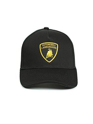 Lamborghini Shield Patch Cap Black
