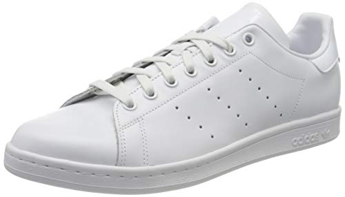 adidas Originals Stan Smith S75104, Herren Low-Top Sneaker, Weiß (Ftwr White/Ftwr White/Ftwr White), 43 1/3 EU