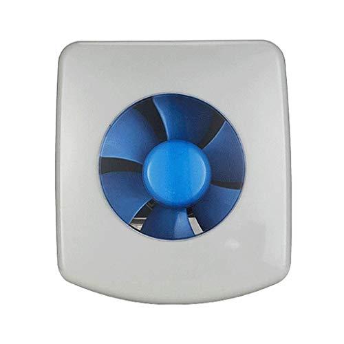 XZJJZ Extractor, Through-The-Wall Ventilador de ventilación, Cuadrado Blanco Extintor, Ventilador de ventilación