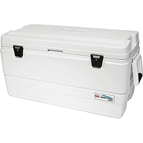 Igloo Marine Ultra 94 Quart Cooler, White