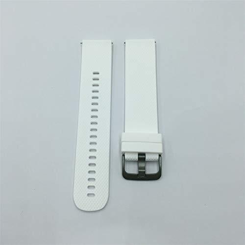Correa de Gel de sílice con Reloj Huawei GT / GT2 (46mm) / GT2E / Glory Magic / MAGIC2 (46mm) Compatible, Pulsera de reemplazo de Silicona, Ancho de la Correa de Reloj: 22 mm Zhenzhiyangshangmao