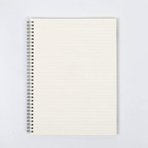 Hmg Duro de la Cubierta del Punto Notebook Vendaje semanal planificador de la Agenda Agenda Escolar Material Revistas Cuaderno de bocetos, Tamaño: A5 (14.8x21.3CM) (Square) (Color : Stripe)