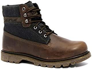 Caterpillar Dark Brown Lace Up Boot For Men, 720908
