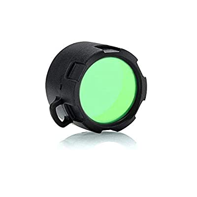 Olight Warrior X Flashlight Filter Tactical Filter,Also Works for Warrior X Pro,Klarus XT21X(Green)