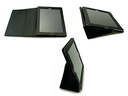 Sandberg 402-52 lederen beschermhoes met standaard voor Apple iPad 2/3