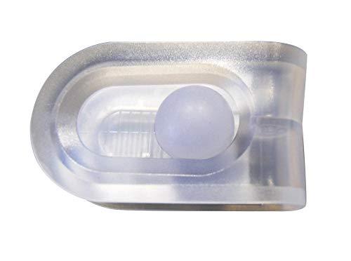 RIDDER Duschvorhangklammer FixIt transparent -