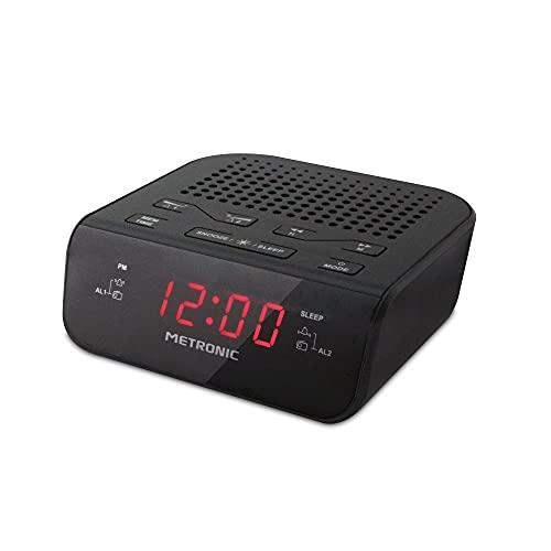 Radio y Radio Despertador Metronic 477026