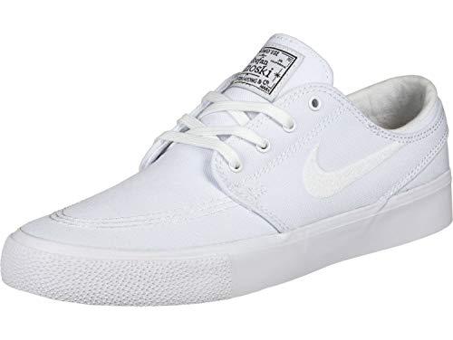 Nike Unisex-Erwachsene Sb Zoom Janoski CNVS Rm Fitnessschuhe, Mehrfarbig (White/White/Gum Light Brown/Black 000), 44 EU
