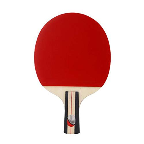 Review Of LIULU Table Tennis Racket Single Shot Suitable for Practice Training Game Portable Double ...
