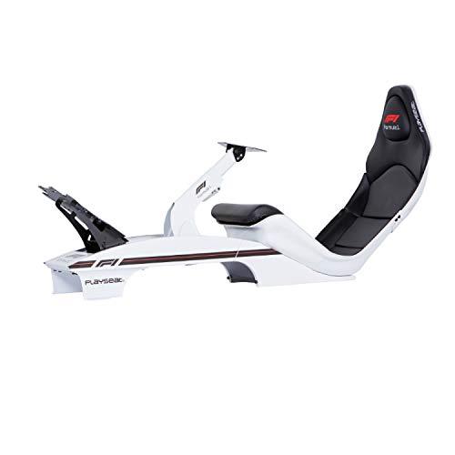 Playseat F1 Blanco Asiento Simulador de Carreras OLP para Playstation 2 3 4 PS2 PS3 PS4 Xbox One 360 PC Mac Wii