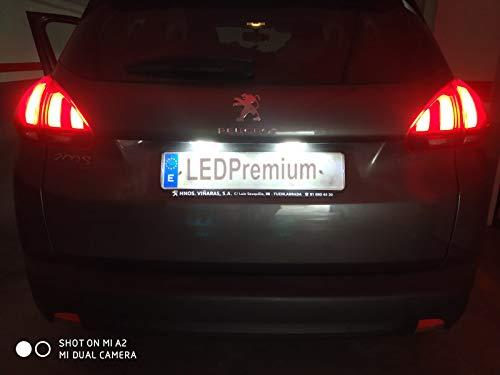 Vinstar 2x LED Kennzeichenbeleuchtung für P. 308 II MK2 207 208 CC 2008 3008 5008 Crossover Canbus LED