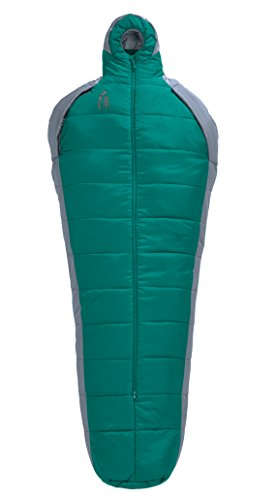 Sierra Designs Women's Mobile Mummy Sleeping Bag, Fanfare/Tradewinds
