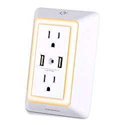 POWRUI-Wall-Mount-Outlet-Surge-Protector-with-2-AC-Wall-Outlet-and-LED-Touch-Nightlight-and-2-USB-Ports