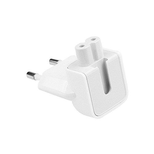 myTech Duckhead EU 2 Pin Power Plug Adapter für iPad 10W und 12W Netzteil sowie für alle Macbook …