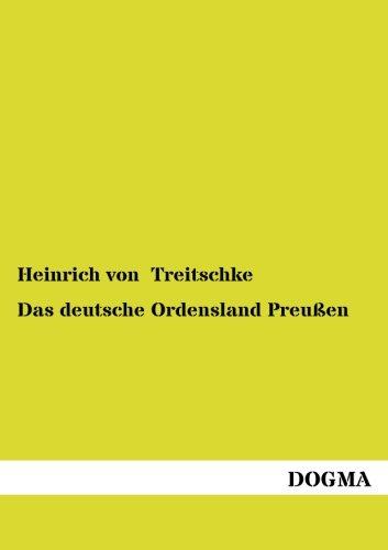 Das deutsche Ordensland Preussen