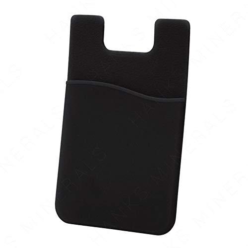 Cikuso (5 Piezas Pegatina de Bolsillo de Tarjeta de Crédito de Silicona Adhesiva Bolsa Estuche para Teléfono Móvil (Color Aleatorio)