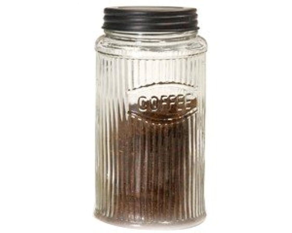 率直なヘア汚染Hoosier Coffee Jar