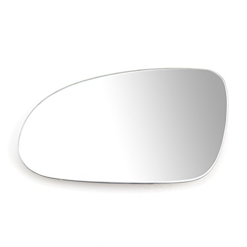 Black Right side Alkar 6432128 Outside Heated Convex Mirror Glass with Holder