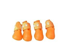 Hosaire Chaussure Chien couleurs de Bonbons Des Bottes pour chien