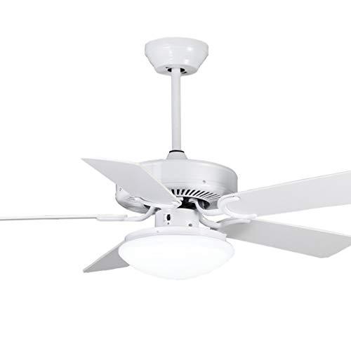 Ventilateurs de plafond avec lampe intégrée Éclairage De Ventilateur De Plafond Éclairage De Ventilateur De Télécommande À LED Ventilateur Créatif En Bois Feuille Ventilateur De Plafond Lumière Ventil