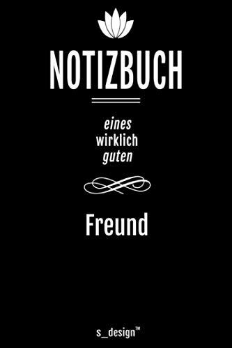Notizbuch für Freunde / Freund / Bester Freund / Beste Freunde: Originelle Geschenk-Idee [120 Seiten kariertes blanko Papier]