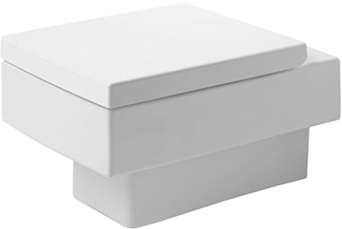 Duravit 22170900921 Toilet Bowl Wall-Mounted 14 5/8-Inch Vero