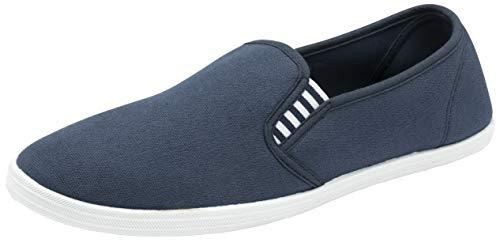 Zapatos de verano para hombre sin cordones., color Blanco, talla 28 EU