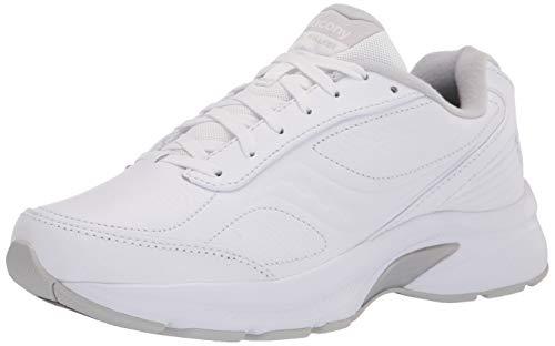 Saucony Women's Omni WLK Walking Shoes, White, 7.5