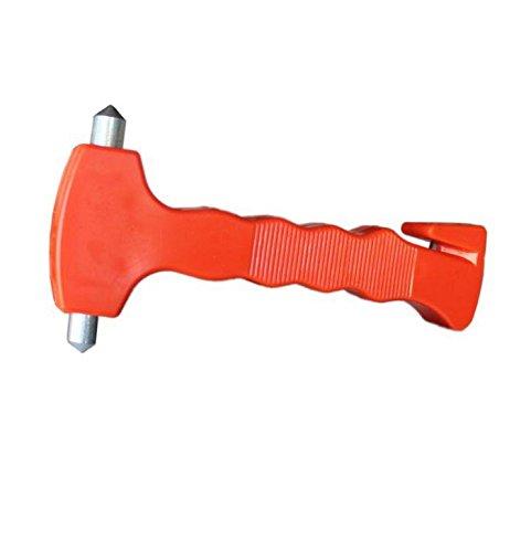 Auto Pkw Notfallhammer, Notfall Hammer, Sicherheit Nothammer mit Gurtschneider und Halterung