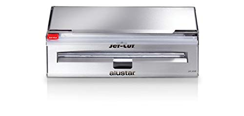Jet-Cut INOX+ Dispenser inklusive Frischhaltefolie & Alufolie, Gastronomie, Edelstahl, 30cm