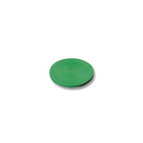 Air-Hockey-Puck Plastik 63 mm Grün