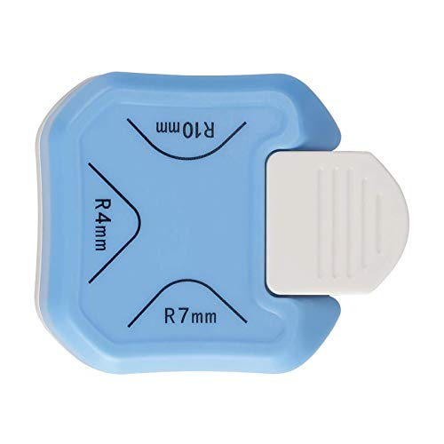 LOVOICE Perforadora de esquinas redondeadas, 3 en 1, para la fabricación de tarjetas, papel fotográfico, laminación de álbumes de recortes