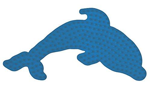 Hama - Midi Plaque Dauphin Bleue, 300-09
