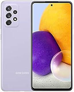 موبايل سامسونج جالاكسي A72 بشريحتين اتصال - شاشة 6.7 بوصة، رام 8 جيجابايت، 128 جيجابايت - بنفسجي