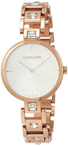 Calvin Klein Damen-Uhren Analog Quarz One Size Rosé 32005870